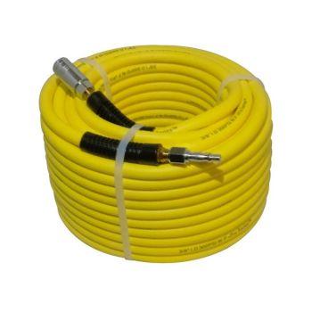 Hi-Viz PVC Air Hose 30 Meters with PCL Type Coupling & Adaptor