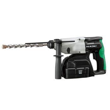 HiKOKI SDS Plus Hammer Drill 3-Mode 24V 2 x 2.0Ah NiMH - HIKDH24DVC