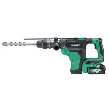 HiKOKI SDS Plus Brushless Rotary Hammer 18/36V 2 x 5.0/2.5Ah Li-ion - HIKDH36DPAJR