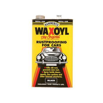 Hammerite Waxoyl Refill Can Black 5 Litre - HMMWAXOYLBL
