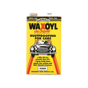 Hammerite Waxoyl Refill Can Clear 5 Litre - HMMWAXOYLCL