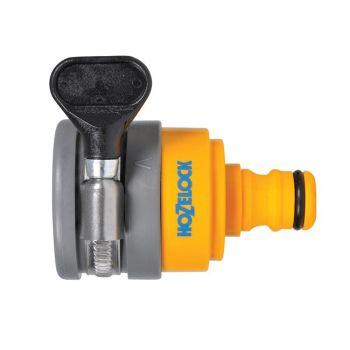 Hozelock Round Mixer Tap Connector Max 24mm Diameter - HOZ2177