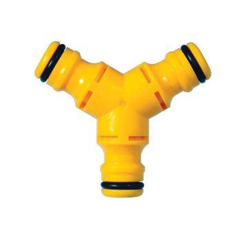 Hozelock Y-Connector 12.5mm (1/2in) - HOZ2293