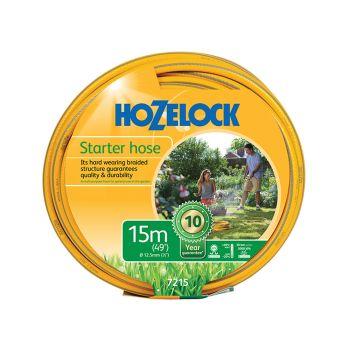Hozelock Starter Hose 15m 12.5mm (1/2in) Diameter - HOZ7215