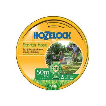 Hozelock Starter Hose 50m 12.5mm (1/2in) Diameter - HOZ7250