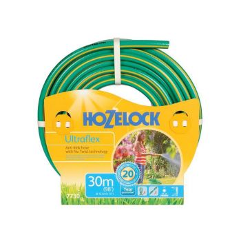 Hozelock Ultraflex Hose 30m 12.5mm (1/2in) Diameter - HOZ7730