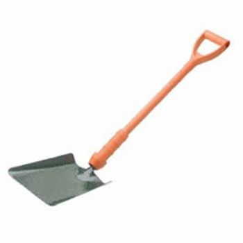 "Bulldog Insulated Taper Mouth Shovel 28"" - Treaded - Fibreglass D Handle - No.2 - New Style - PD5TM2INR"