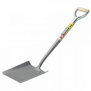 "Bulldog Taper Mouth Shovel 28"" - No.2 Flat Treads - Metal YD Handle - 5274022850"