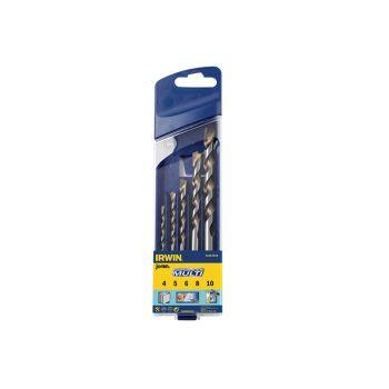 IRWIN Cordless Multi-Purpose Drill Bit Set 5 Piece 4-10mm - IRW10501938