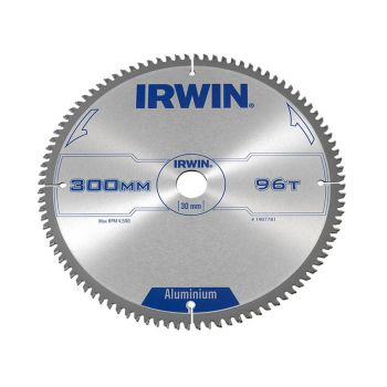 IRWIN Professional Aluminium Circular Saw Blade 300 x 30mm x 96T TCG - IRW1907781