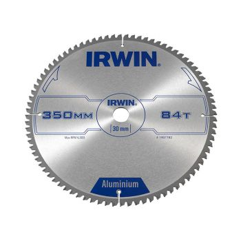 IRWIN Professional Aluminium Circular Saw Blade 350 x 30mm x 84T TCG - IRW1907782