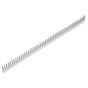 Jokari Wire End Sleeves 0.5 x 8mm White 500 Piece - JOK60150