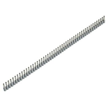 Jokari Wire End Sleeves 0.75 x 8mm Grey 500 Piece - JOK60175