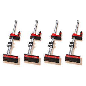 Bessey K Body REVO 2.0 KRE125-2K 1250/95 Quad Pack 4 Clamps