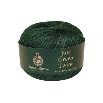 Kent & Stowe Jute Twine Green 80m (100g) - K/S70100800