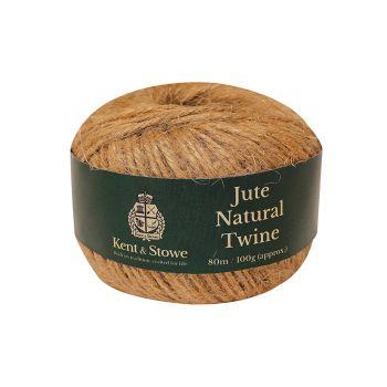 Kent & Stowe Jute Twine Natural 80m (100g) - K/S70100805