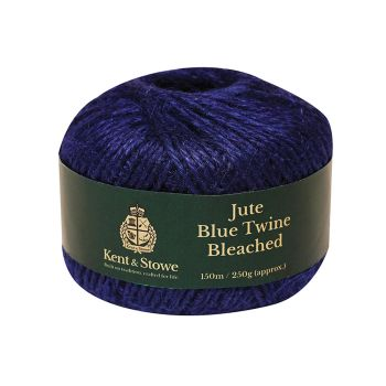 Kent & Stowe Jute Twine Bleached Blue 150m (250g) - K/S70100820
