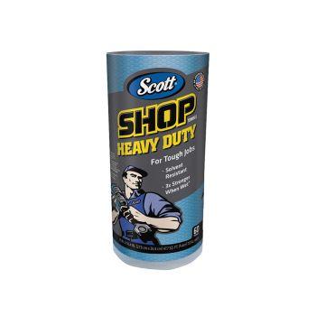 Kimberley Clarke SCOTT Blue Heavy-Duty Shop Cloth Roll - KCL32992B