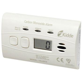 Kidde 10 Year Sealed Battery Digital Carbon Monoxide Alarm - KID10LLDCO