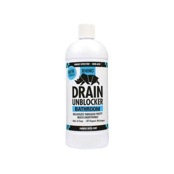 Kilrock Rhino Bathroom Heavy-Duty Drain Unblocker 1 Litre - KILRHINOBATH