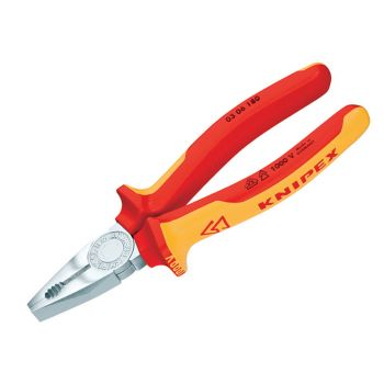 Knipex VDE Combination Pliers 160mm - KPX0306160