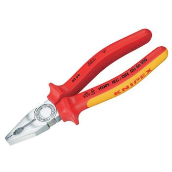 Knipex VDE Combination Pliers 200mm - KPX0306200