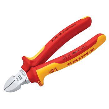 Knipex VDE Diagonal Cutter 160mm - KPX7006160