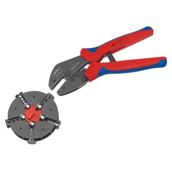 Knipex Multicrimp Pliers Set - 5 Quick Change Cartridges - KPX973302