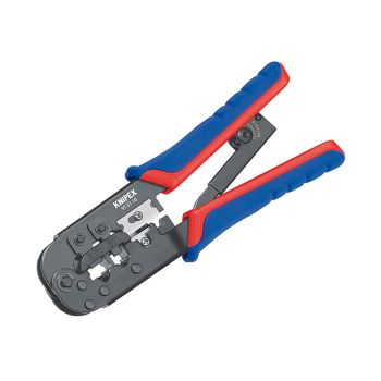 Knipex Crimping Pliers for RJ11/12 RJ45 Western Plugs - KPX975110