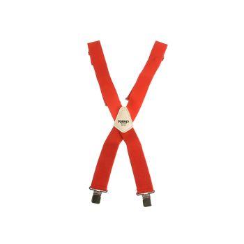 Kuny's Red Braces 2in Wide - KUNSP17R