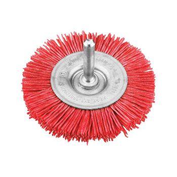 KWB Nylon Wheel Brush 100mm Coarse - KWB604430