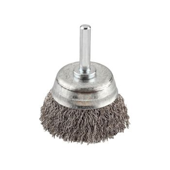 KWB HSS Crimped Cup Brush 50mm Coarse - KWB606230