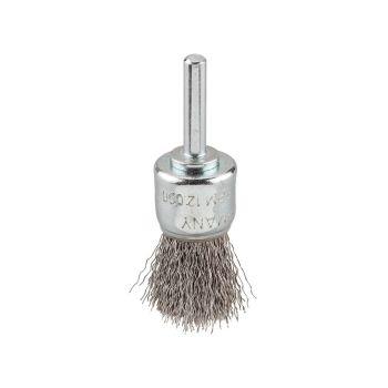 KWB HSS Crimped Corner End Brush 25mm Coarse - KWB608030