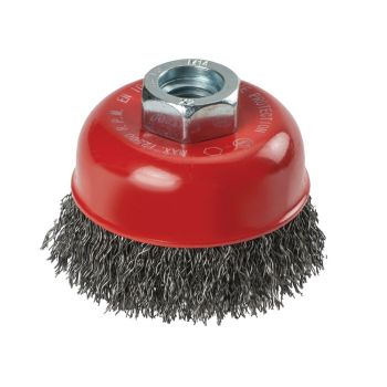 KWB Crimped Steel Cup Brush 60mm x M14 - KWB719106