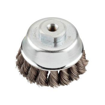KWB Steel Twist Knot Cup Brush 66mm x M14 - KWB719206