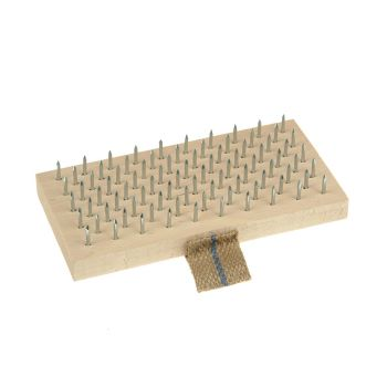 Lessmann Plasterers Brush 190 x 95mm (Steel Pins) - LES061101