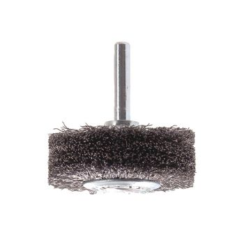 Lessmann Wheel Brush with Shank 70 x 20mm 0.30 Steel Wire - LES417163