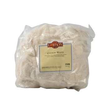 Liberon Cotton Waste 250g - LIBCW250G