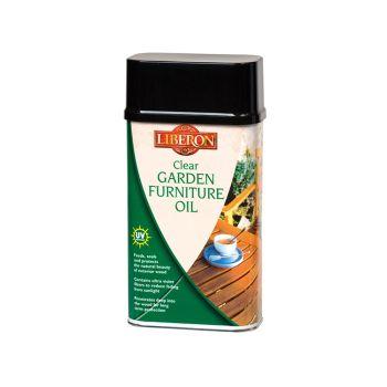 Liberon Garden Furniture Oil Clear 1 Litre - LIBGFOCL1L