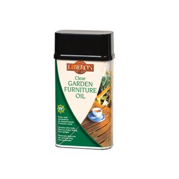 Liberon Garden Furniture Oil Clear 500ml - LIBGFOCL500