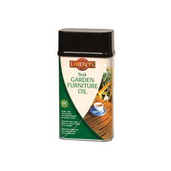Liberon Garden Furniture Oil Teak 500ml - LIBGFOTE500