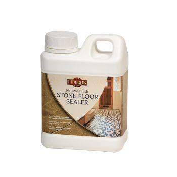 Liberon Natural Finish Stone Floor Sealer 1 Litre - LIBNFSFS1L
