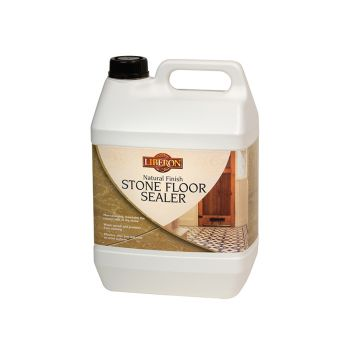 Liberon Natural Finish Stone Floor Sealer 5 Litre - LIBNFSFS5L