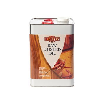 Liberon Raw Linseed Oil 5 Litre - LIBRLO5L
