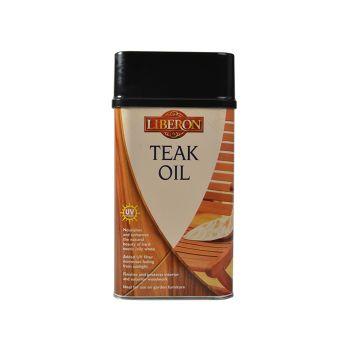 Liberon Teak Oil with UV Filters 1 Litre - LIBTOUV1L