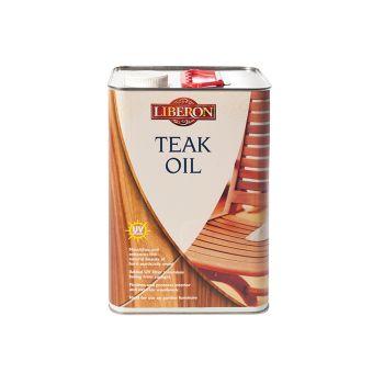 Liberon Teak Oil with UV Filters 5 Litre - LIBTOUV5L