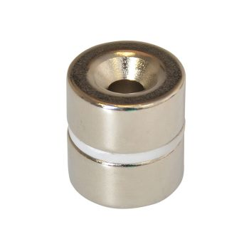 E-Magnets 314 Countersunk Magnets (2) 20mm Polarity: North - MAG314