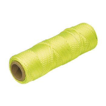 "Marshalltown Braided Nylon Mason's Line 250' Fl. Yellow, Size 18 6"" Core - M632"