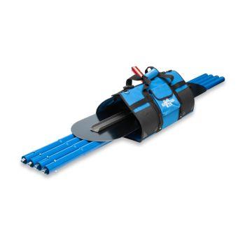 """Marshalltown Round End Blue Glider Tote Kit 48"""" - MBG48KITL-L"""