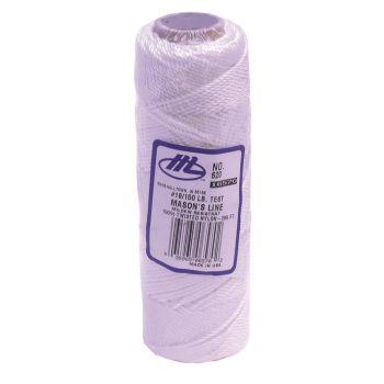 "Marshalltown Twisted Nylon Mason's Line 285' White, Size 18 6"" Core - M620"